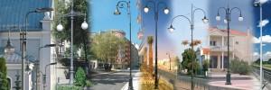 Straßenbeleuchtungsmasten