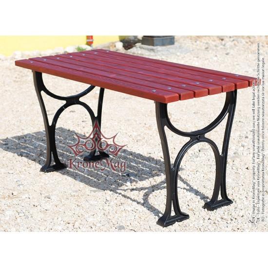 Gusseisen Gartentisch.Gartenmöbel Gartentisch Terrassentisch Aus Gusseisen Und Holz Sanove M