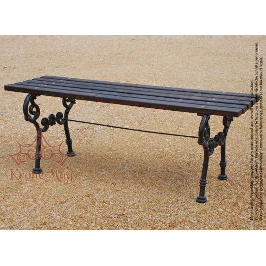 Gusseisen Gartentisch.Gusseisen Gartentisch Terrassentisch Mit Holz Valdez M