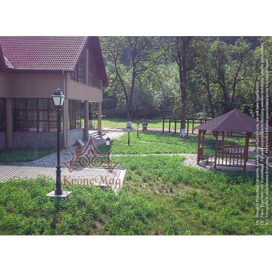 Garten Kandelaber aus Gusseisen und Metall VILLA-1