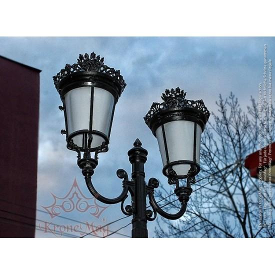 Kandelaber Gusseisen Masten für Außenbeleuchtung VILLA2-2